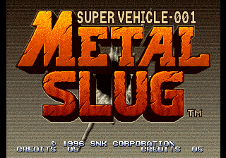 Play <b>Metal Slug: Super Vehicle-001</b> Online