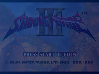 Play <b>Shining Force III</b> Online