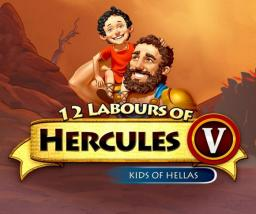 12 Labours of Hercules V: Kids of Hellas (Platinum Edition) Title Screen