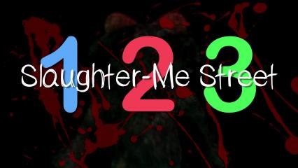 123 Slaughter Me Street Title Screen
