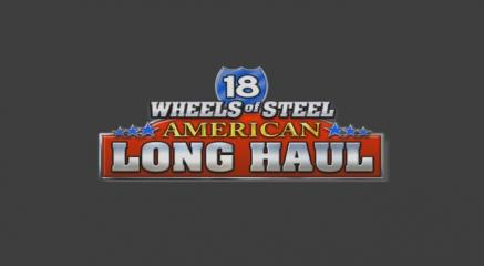 18 Wheels of Steel: American Long Haul Title Screen