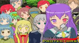 Ace of Protectors Title Screen