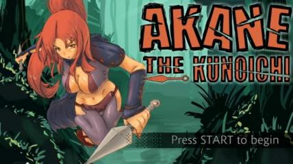 Akane the Kunoichi Title Screen