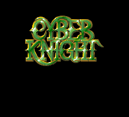 Cyber Knight Title Screen