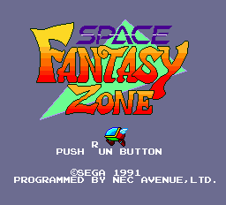 Space Fantasy Zone (unreleased)