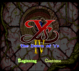 Ys IV - The Dawn of Ys (english translation)