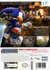 Sonic and the Black Knight Box Art Back