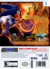 Sonic and the Secret Rings Box Art Back