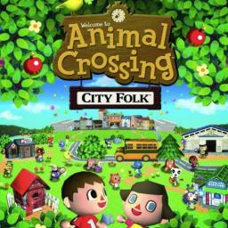 Animal Crossing: City Folk Title Screen