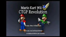 Mario Kart Wii CTGP Revolution Title Screen