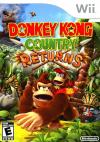 Donkey Kong Country Returns Box Art Front