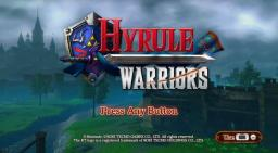 Hyrule Warriors Title Screen