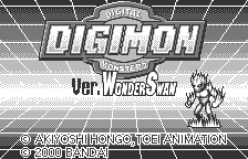 Digimon - Ver. WonderSwan