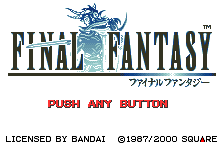 Play <b>Final Fantasy (English v0.91)</b> Online