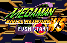 Rockman EXE WS (english translation) Title Screen