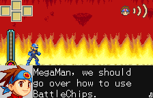 Rockman EXE WS (english translation) Screenshot 1