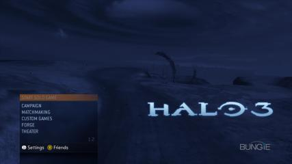 Halo 3 Title Screen