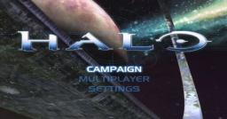 Halo: Combat Evolved Title Screen