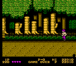 Double Dragon - Stupid ninjas  - User Screenshot