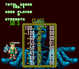 Golden Axe - Lvl 7. Got an A! - User Screenshot