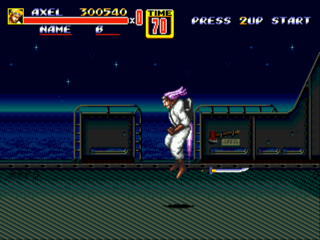 Streets of Rage 2 -  - User Screenshot