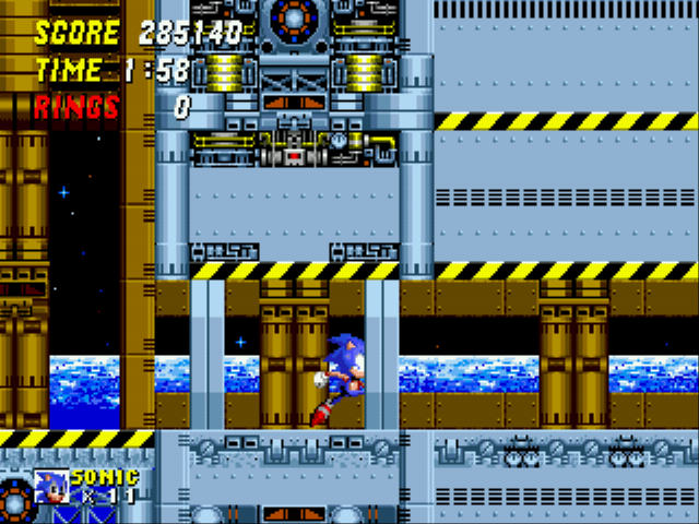 Sonic the Hedgehog 2 - my 1st attempt  - User Screenshot