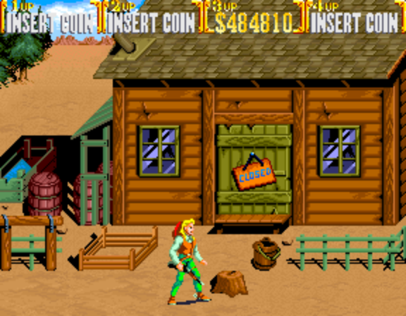 Sunset Riders (4 Players ver EAC) -  - User Screenshot