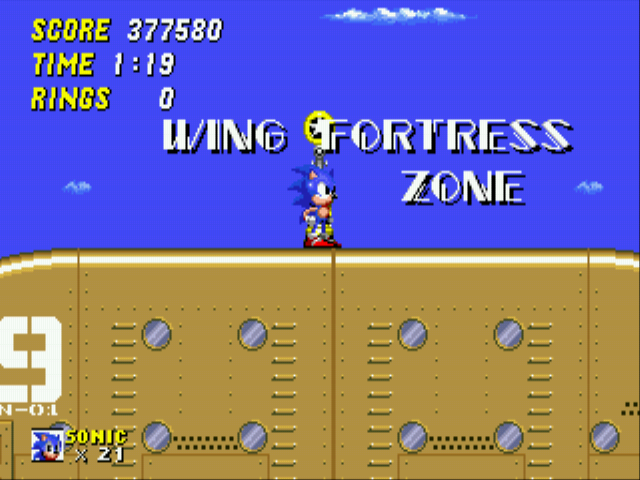 Sonic the Hedgehog 2 - tired,going 2 bed!? - User Screenshot