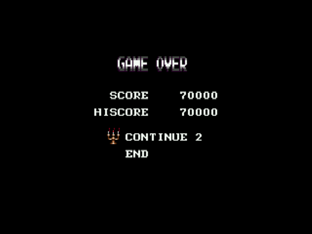 Castlevania - Bloodlines - whoosh its highscore - User Screenshot