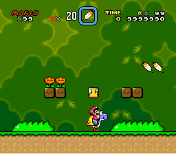Super Mario World - Highest Score - User Screenshot