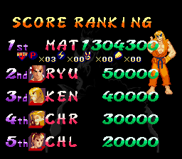 Street Fighter Alpha 2 - My best so far... - User Screenshot