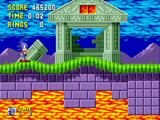 Sonic the Hedgehog - Game over yeah - User Screenshot
