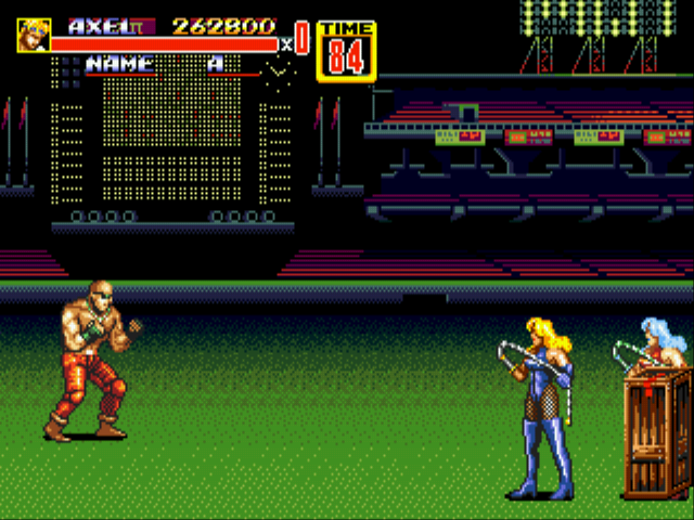 Streets of Rage 2 - decent i guess - User Screenshot