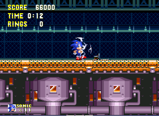 Sonic and Knuckles - mechus im back  - User Screenshot