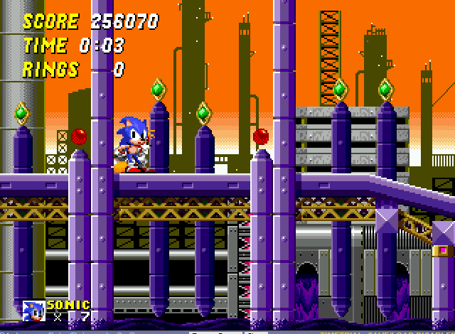 Sonic the Hedgehog 2 - hot wheels beat that - User Screenshot