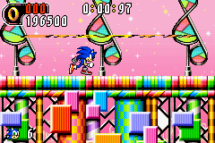 Sonic Advance 2 - Score - User Screenshot