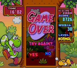 Tetris Attack - That got hard to do - User Screenshot
