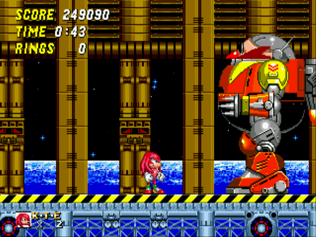 Sonic and Knuckles & Sonic 2 - Cant beat final boss - User Screenshot