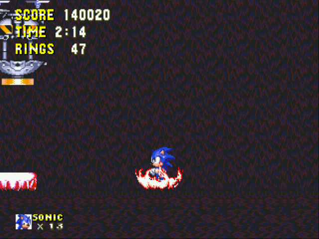 Sonic and Knuckles - High score - User Screenshot
