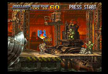 Metal Slug X -  - User Screenshot