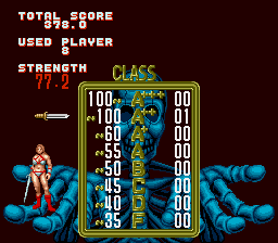 Golden Axe - Game finished.  - User Screenshot