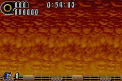 Sonic Advance 2 - That was tough! - User Screenshot