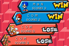 Sonic Battle - i win - User Screenshot