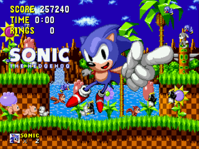 Sonic the Hedgehog - Yeah! :D - User Screenshot
