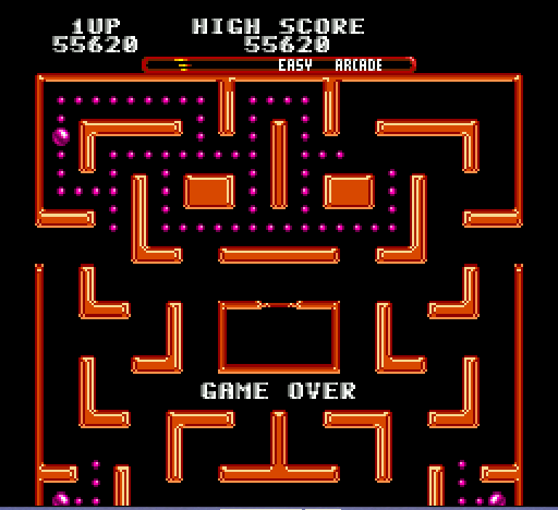 Ms Pac-Man - poor - User Screenshot