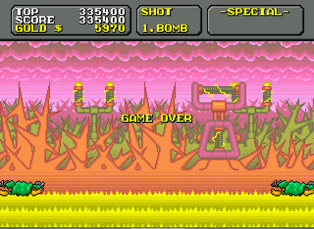 Super Fantasy Zone - Shocking - User Screenshot