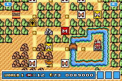 Super Mario Advance 4 - Super Mario Bros. 3 - this is my first try - User Screenshot