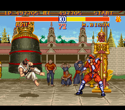 Street Fighter II - The World Warrior - so hard to beat - User Screenshot