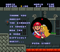 Super Mario All-Stars - SMB1 - User Screenshot