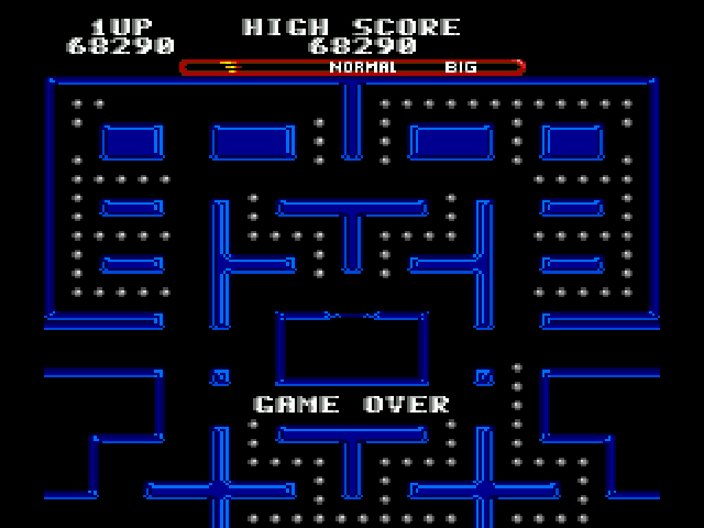 Ms Pac-Man - Fail train - User Screenshot